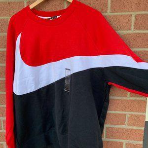 Nike Sportswear HBR Big Swoosh Fleece Sweatshirt